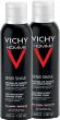 Vichy homme mousse à raser anti-irritations lot de 2 x 200 ml